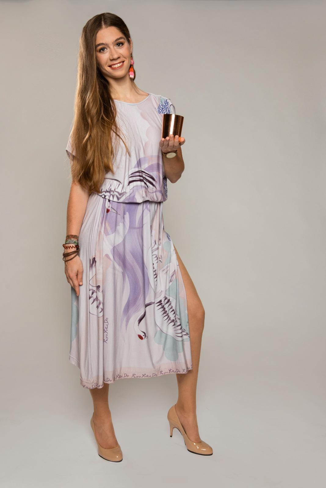 AhA-Silhouette Maxi-Kleid 'Shirueto'