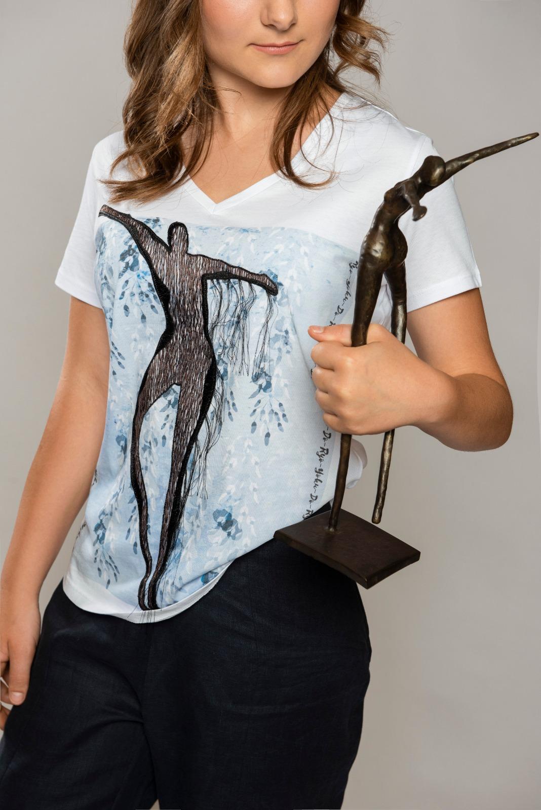 T-Shirts 'Freude des Lebens'